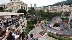 Le fasi di partenza del GP Monaco 2019 di F1