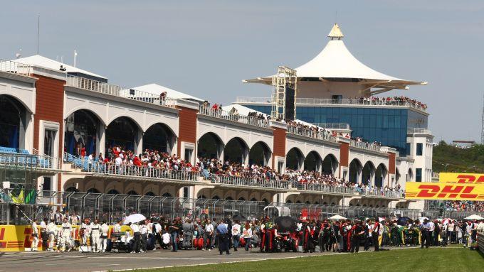 Le fasi pre-partenza del GP di Turchia 2011 all'Istanbul Park