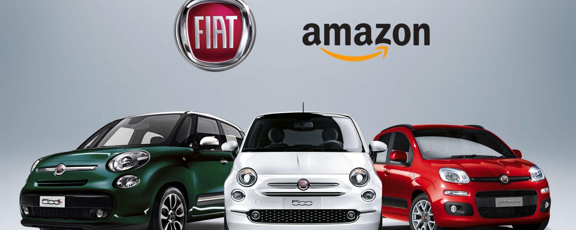 Le Fiat si comprano su Amazon