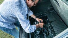 Le fodere dei sedili di Ford Puma si possono lavare nel MegaBox