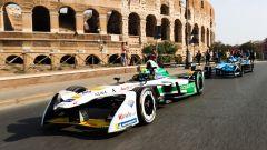 Le Formula E sfrecceranno vicino ai monumenti romani