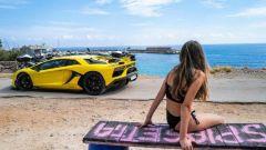 Le foto di Letizia Battaglia per Lamborghini che hanno creato polemica