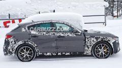 Le foto spia della Maserati Levante GTS intercettate da CarBuzz.com
