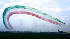 Le Frecce Tricolori al Linate Air Show