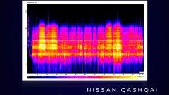 Le frequenze sonore di Nissan Qashqai