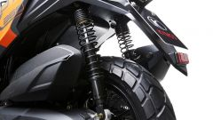 Le gomme tassellate del Kymco DT X360