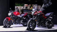 Le Honda CB400F e CB400X presentate allo Shanghai Auto Show 2021