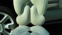 Le imbottiture Airbump della Cactus Chair di Mario Bellini