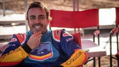 Le immagini del test di Alonso con la Toyota Hilux Dakar 2019