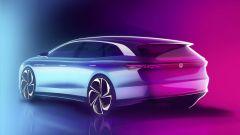 Le linee affusolate della Volkswagen ID. Space Vizzion1
