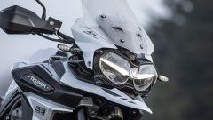 Le luci a LED della Triumph Tiger 1200