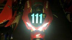Le luci di questa Honda CBR del Mondiale Endurance potrebbero non essere abbsatanza appariscenti se confrontate con la Ducati 12