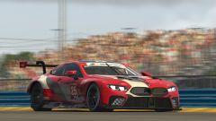 Le M8 GTE nel campionato eSport di BMW