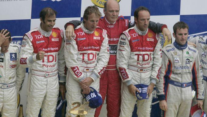 le mans podio 2007