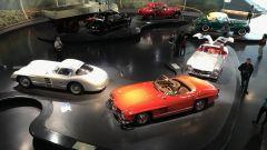 Le Mercedes 300SL al Museo Mercedes di Stoccarda