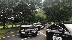 Le Mercedes Classe E 220d Tribute Ponton con le quali siamo andati da Milano a Stoccarda