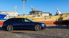 Le navi nel porto di Skagen
