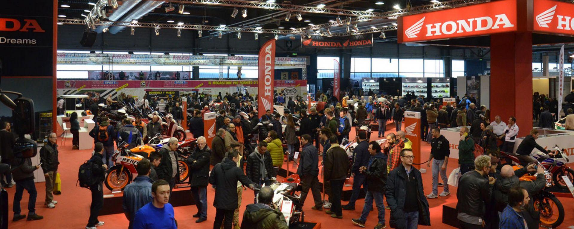 Le novità Honda al Motor Bike Expo di Verona