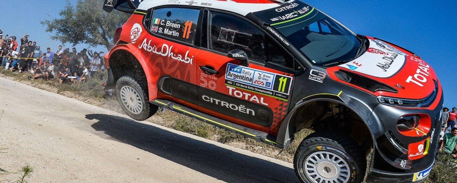 Le novità portate da Citroen sulla C3 WRC al Rally Argentina