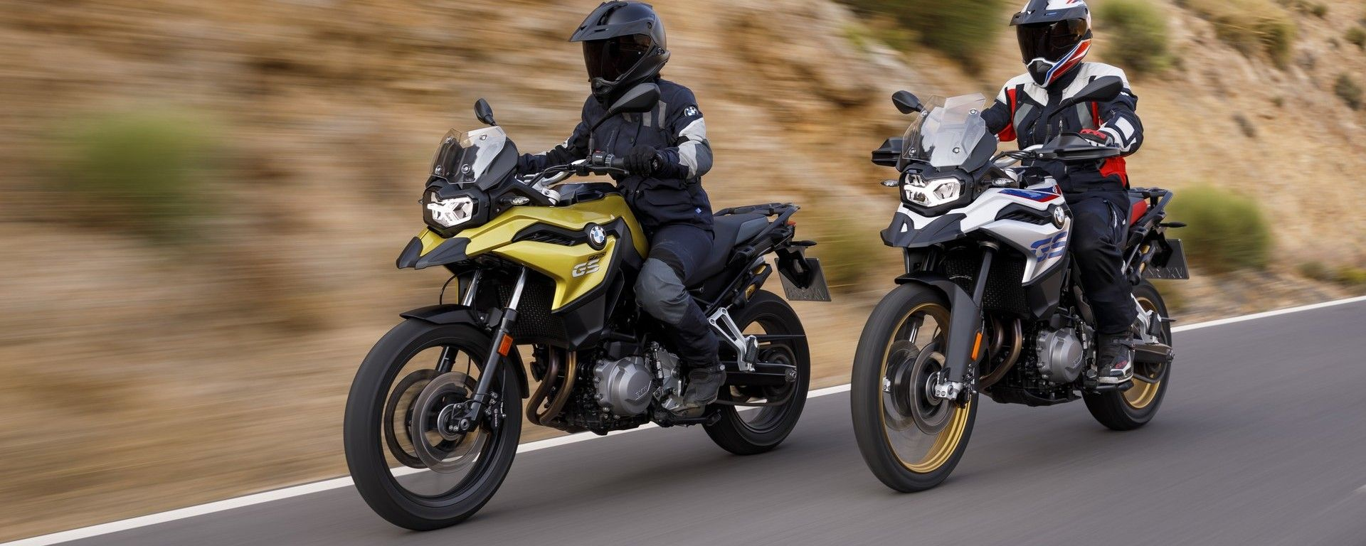 Le nuove BMW F750 GS e BMW F 850 GS