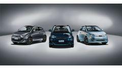 Le nuove Fiat 500 elettriche