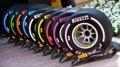 Le nuove gomme Pirelli per la F1 2018