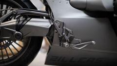 Le pedane della BMW R nineT Special by Zillers Custom Garage
