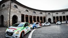 Il Trofeo Peugeot Competition sbarca nel Rally Roma Capitale