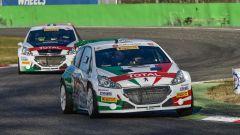 Le Peugeot di Andreucci e Pollara insieme sul circuito di Monza