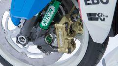 Le pinze freno anteriori della Brand New Jack, la special di Icon su base Suzuki Katana