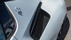 Le prese d'aria laterali della Maserati MC20