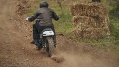 Le ruote tassellate della Harley-Davidson XG750 da Hill Climb