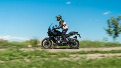 Le strade bianche sono terreno amico per la Harley Davidson Pan-America 1250 Special