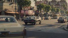 Le strade di Los Angeles in C'era una volta a Hollywood