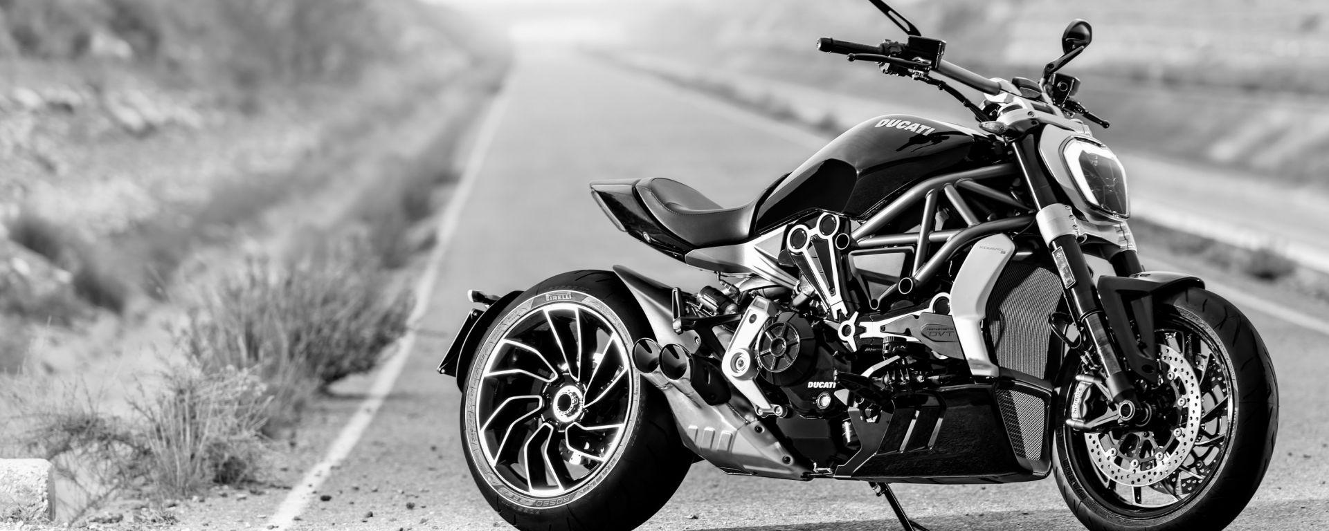 Le tecnologie Bosch a bordo della Ducati XDiavel