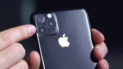 Le tre fotocamere di iPhone 11 Pro