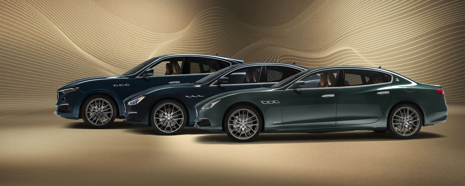 Le tre Maserati serie Royale