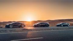 Le tre supercar Bugatti, dal 1992 ad oggi