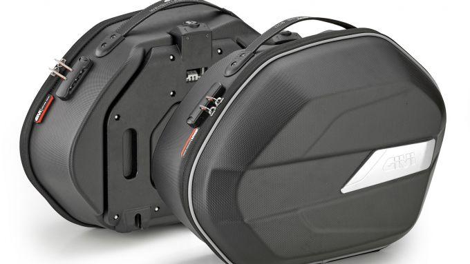 Le valigie laterali Givi WL900