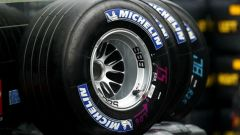 Le vecchie Michelin intagliate da F1
