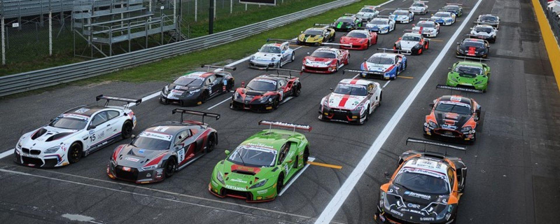 Le vetture del Campionato Italiano GT 2017