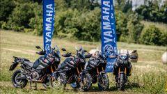 Le Yamaha Super Ténéré 1200 del Blue Bike Camp, il corso in fuoristrada di Daniele Madrigali
