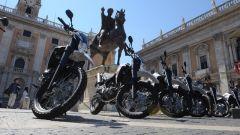 Le Yamaha XT660R per la Polizia di Roma Capitale
