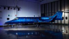 Learjet 31 Nel blu dipinto di blu by Garage Italia Customs: l'aereo personalizzato dall'azienda di Lapo Elkann