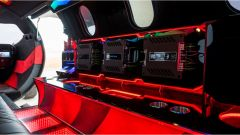 Learmousine, l'impianto audio da 17.000 watt - Foto: Mecum