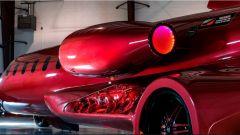 Learmousine: luci specifiche fanno sembrare accesi i motori dell'aereo - Foto: Mecum
