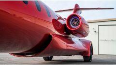 Learmousine, nei motori del jet ci sono luci e altoparlanti - Foto: Mecum