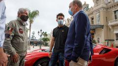Leclerc e Lelouch incontrano Alberto di Monaco