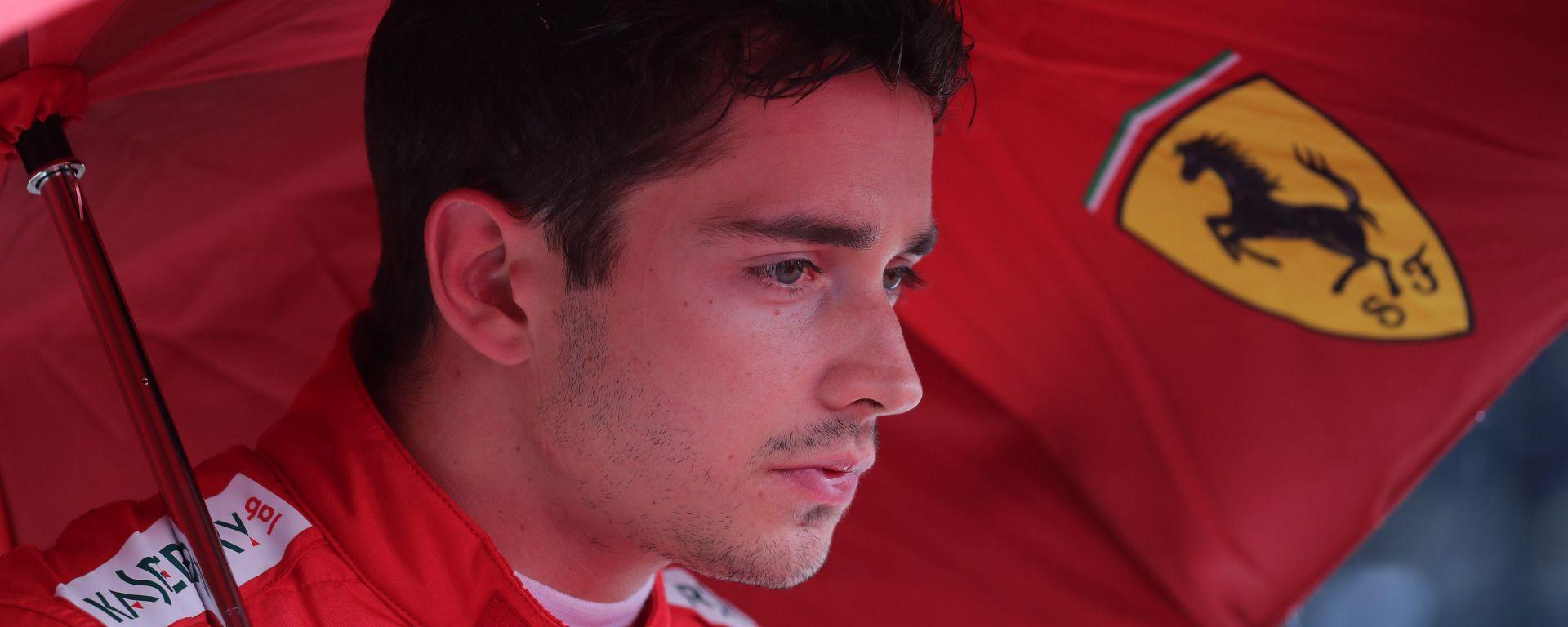 Leclerc (Ferrari) deluso ad Hockenheim