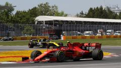 Leclerc in pista a Montreal